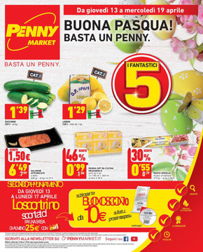 Volantino penny market offerte e promozioni for Volantino casa e co foggia