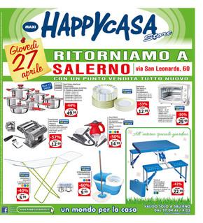 Volantino happycasa offerte e promozioni for Punto casa volantino