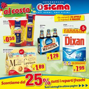 Volantino sigma offerte e promozioni for Volantino ard discount milazzo