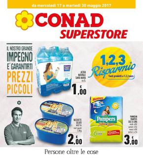 Volantino conad superstore offerte e promozioni for Volantino offerte despar messina