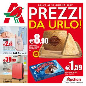 Volantino auchan offerte e promozioni for Volantino super conveniente catania misterbianco