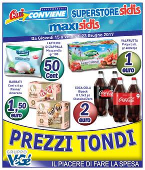 Volantino sidis offerte e promozioni for Volantino ard discount milazzo