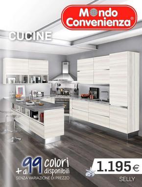 Catalogo mondo convenienza offerte e promozioni for Volantino mondo convenienza cucine