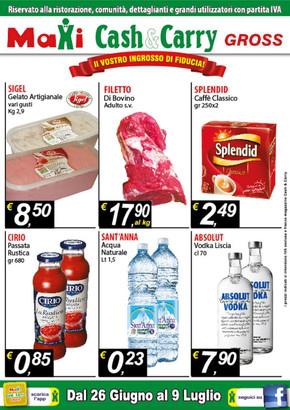 Volantino maxi cash offerte e promozioni for Volantino ard discount milazzo