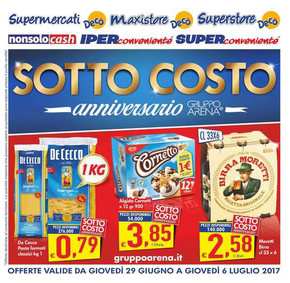 Volantino iper super conveniente offerte e promozioni for Volantino super conveniente catania misterbianco