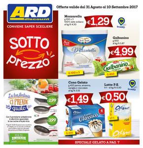 Volantino ard discount offerte e promozioni for Ard volantino messina