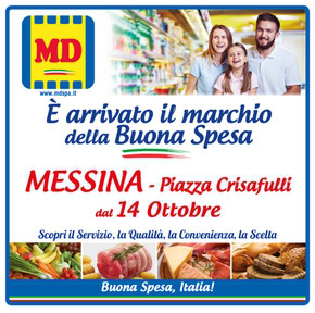 Volantino MD e LD Market a Messina