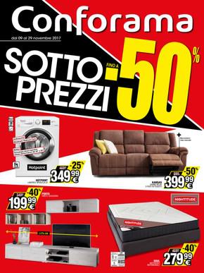 Volantino Conforama a Tortona: offerte e orari