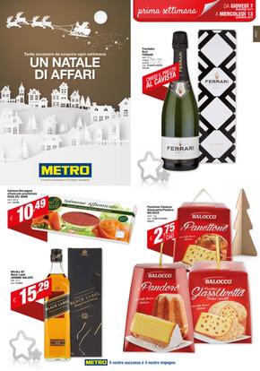 Volantino Metro: orari e catalogo