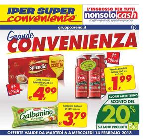 Iper super conveniente a catania offerte e promozioni for Volantino offerte super conveniente catania