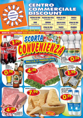 Centro commerciale discount a udine offerte e promozioni for Iper udine volantino