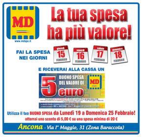 volantino MD a Ancona: offerte e orari