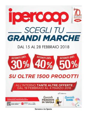 Volantino IperCoop a La Spezia: offerte e orari