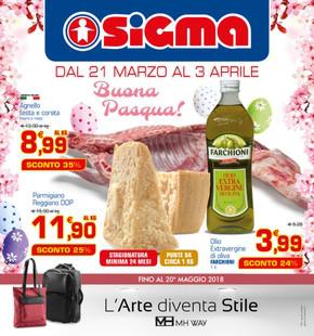 Volantino Sigma a Bologna: offerte e orari