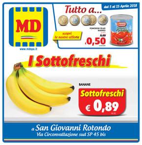 volantino MD a San Giovanni Rotondo: offerte e orari