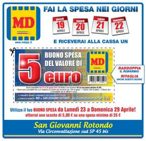 volantino MD a Foggia: offerte e orari