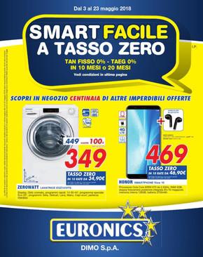 Volantino euronics offerte e promozioni for Arredamento tasso zero