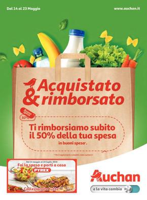 Volantino Auchan a Napoli: offerte e orari