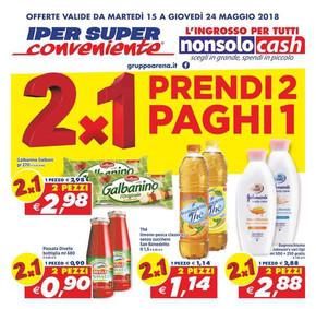 Supermercati a catania volantini e offerte for Volantino super conveniente catania misterbianco