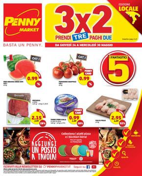 Volantino Penny Market a Caserta: offerte e orari