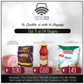 Volantino sidis a messina offerte e supermercati for Volantino despar messina e provincia