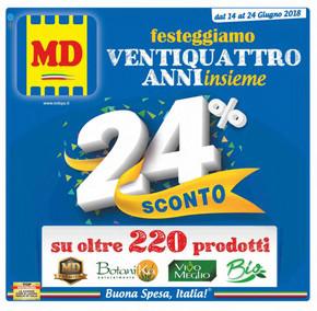 volantino MD a Napoli: offerte e orari