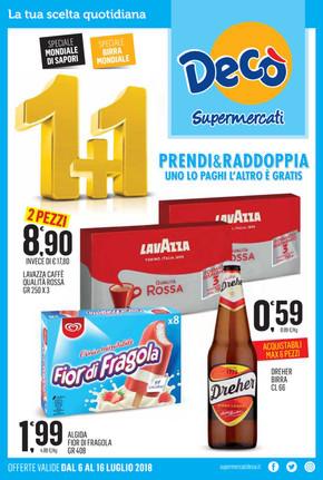 Volantino Decò a Pozzuoli: offerte e supermercati