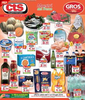 CTS Supermercati a Ostia