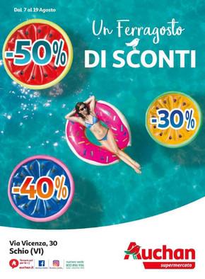 Auchan Schio Via Vicenza, 30 Schio