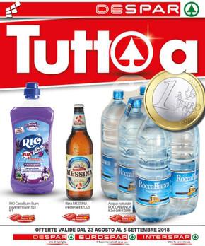 Supermercati a messina volantini e offerte for Volantino despar messina e provincia