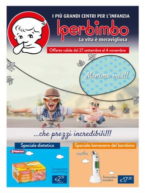 volantino Iperbimbo a Monza: offerte e orari