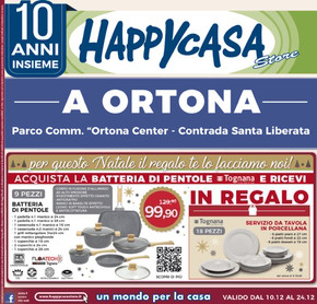 Volantino Happy Casa Lecce