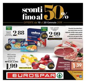 Eurospar Andria Volantino Orari Di Apertura E Indirizzi