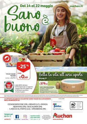 Auchan Monza: Volantino, Orari di apertura e Indirizzi