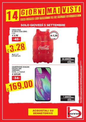 cheaper 30e3b faffc Bennet Magenta: Volantino, Orari di apertura e Indirizzi