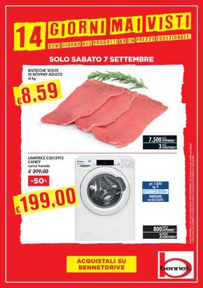 huge selection of fcae4 f7d83 Bennet Trecate: Volantino, Orari di apertura e Indirizzi