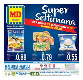 MD Napoli: Volantino, Orari di apertura e Indirizzi