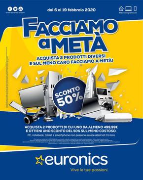 Offerte Nuovo Arredo Taranto.Volantino Euronics Taranto Offerte Orari E Negozi