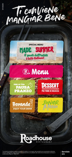 Offerte Roadhouse Restaurant