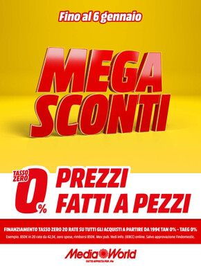 Volantino Mediaworld Pisa: Offerte, Orari e Negozi
