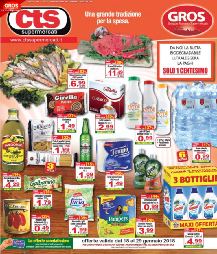 CTS Supermercati a Bracciano