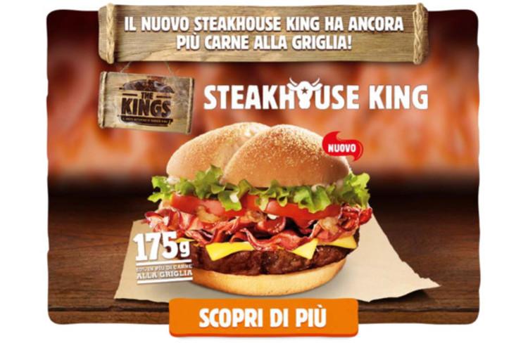 Burger King a Firenze: menù e offerte