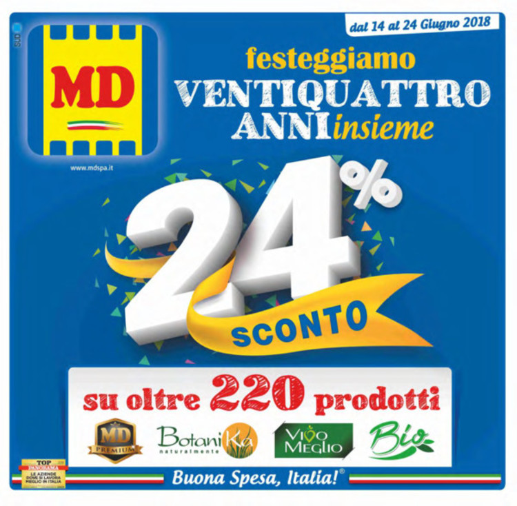 volantino MD a Cosenza: offerte e orari