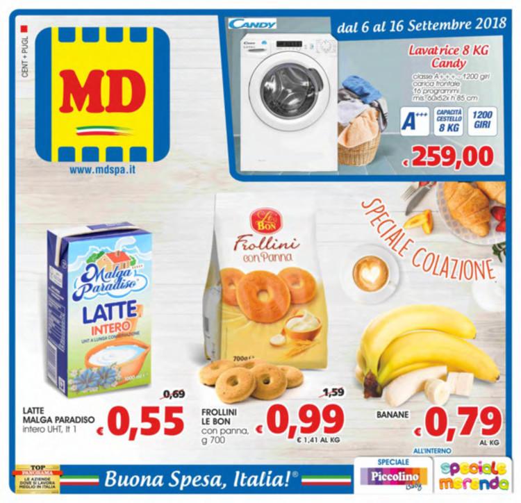 volantino MD a Lucera: offerte e orari
