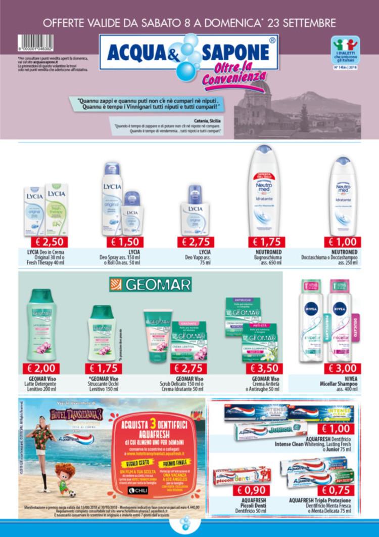 volantino Acqua & Sapone a Termoli: offerte e orari