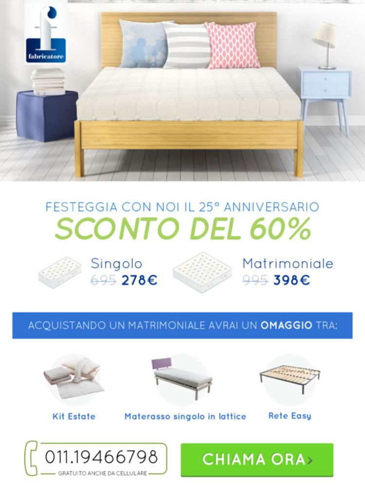 Materassi Fabricatore a Torino - offerte, sconti e negozi