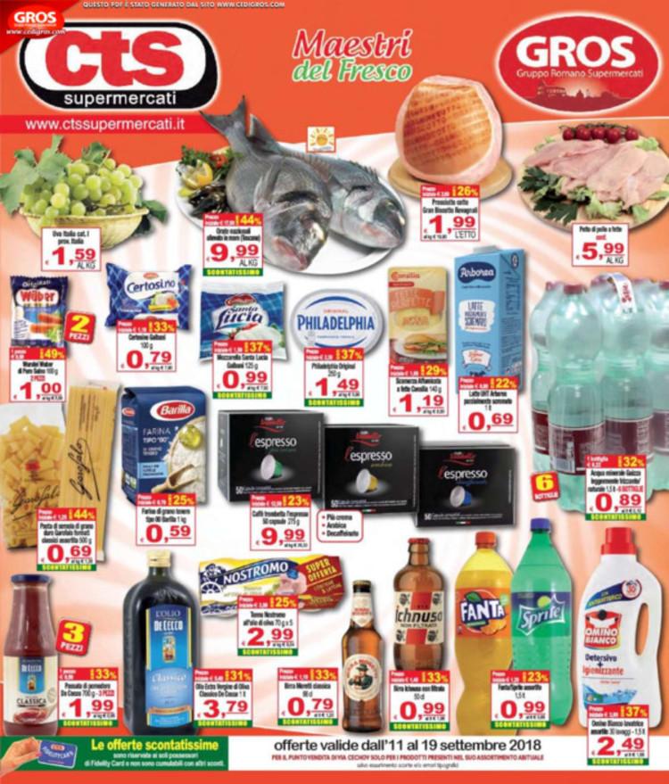 CTS Supermercati a Guidonia Montecelio